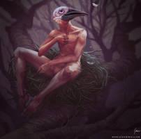 The cursed kid. by HorizonDweller
