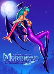 Morrigan by Moonlight by DrewGardner