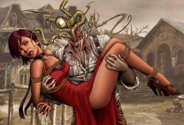 Bride of Plagus by DrewGardner