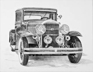 1931 Buick Graphite by Daniel-Storm