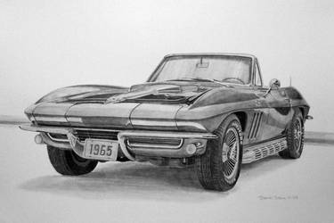 1965 Corvette Graphite by Daniel-Storm