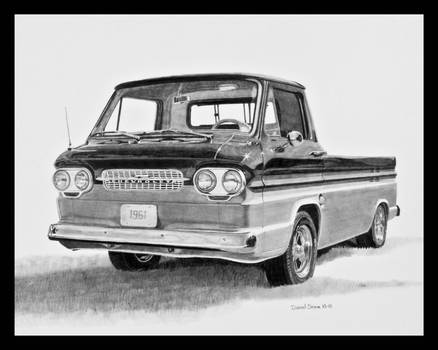 1961 Corvair Rampside Graphite by Daniel-Storm
