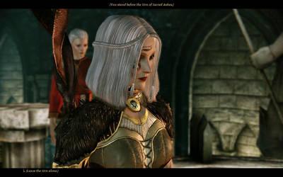 Tissaia The Grey Warden Mage by palitajimena