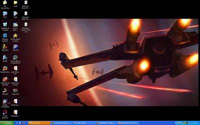 My desktop by palitajimena