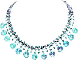 blue necklace by EnchantedWhispersArt