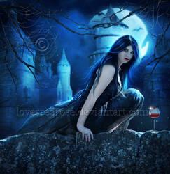 Dark-Moon by EnchantedWhispersArt