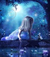 Princess and the Frog by EnchantedWhispersArt