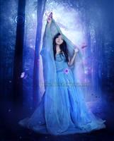 Blue-Morning by EnchantedWhispersArt