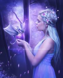Dragon-Egg by EnchantedWhispersArt