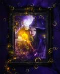 Pumpkin Magic by EnchantedWhispersArt