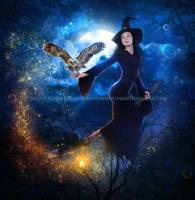 Magical-Halloween by EnchantedWhispersArt