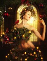 Merry Christmas by EnchantedWhispersArt