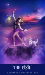 The Fool Tarot by EnchantedWhispersArt