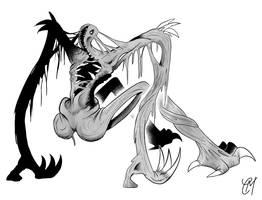 CM's Halloween Fest: Monster Designs: ANOREX by CMartworkXL