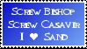 I love Sand stamp by Xmas-freak-hikaru