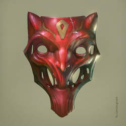 Red mask by GrayM
