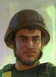 fallen soldier by GrayM