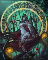 Dark Lady____Sylvanas Windrunner by Dark-ONE-1