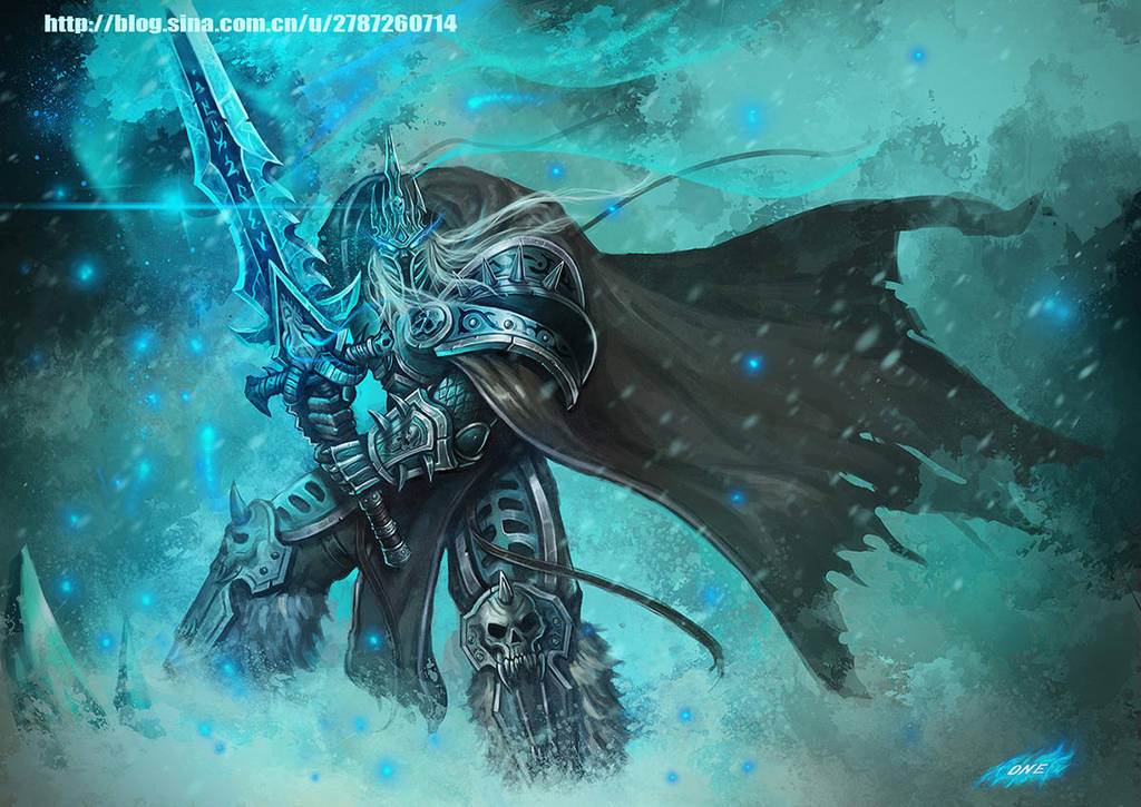 Lich King by Dark-ONE-1