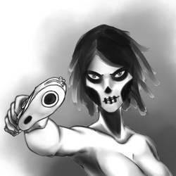 Skullface by penrush