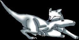 dino pose by Nicortkl