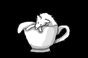 Coffee Cup Wolf by Nicortkl
