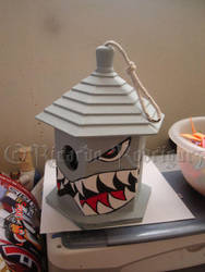 Jet Fighter Birdhouse by southtexasartdog