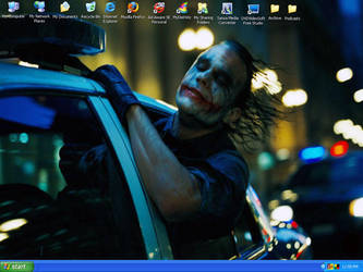 joker desktop by southtexasartdog