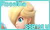 Rosalina Super Smash Bros. Wii U Stamp by NatouMJSonic