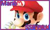 Mario SSB Wii U Stamp by NatouMJSonic