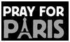 Pray for Paris Stamp by NatouMJSonic