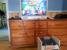 My good old Nintendo 64 by NatouMJSonic