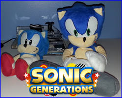 Sonic Generations Plushies by NatouMJSonic