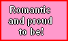 Romantic and proud to be Stamp by NatouMJSonic