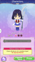Sailor Saturn Sailor Moon Drops Event.  by NatouMJSonic