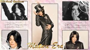 MJ Mature Era Wallpaper by NatouMJSonic