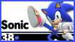 SSBU 38 Sonic Stamp by NatouMJSonic