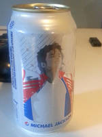 Michael Jackson Pepsi can. by NatouMJSonic