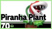 SSBU 70 Piranha Plant Stamp by NatouMJSonic