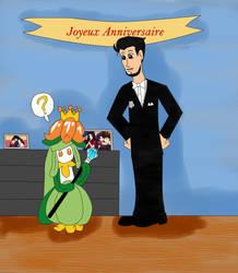 Le Maire Damien et la princesse Lady by NatouMJSonic