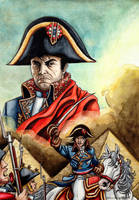 Sons and Daughters of France : Napoleon Bonaparte by RaynalJacquemin