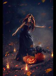Halloween 2017 (Commission) + Video by Nikulina-Helena