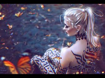 Metamorphosis (Commission) + Video by Nikulina-Helena