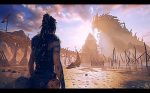 Hellblade. Senua's Sacrifice by Nikulina-Helena