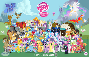 Corrected Comic Con Poster by CiscoQL