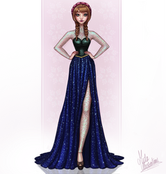 Anna by MidaIllustrations