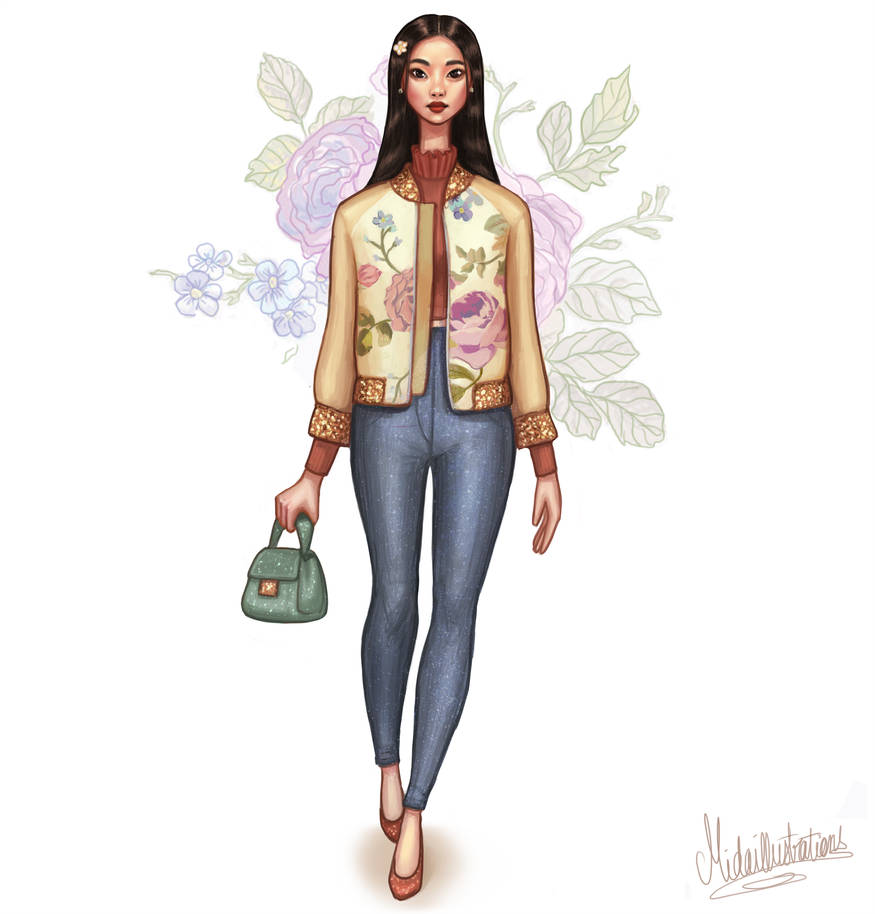 Spring 04 by MidaIllustrations