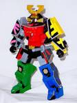 Mega Bloks - Samurai Megazord 1 by LinearRanger