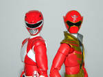Power Rangers 20th Anniversary - Red Figuarts 3 by LinearRanger