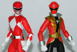 Power Rangers 20th Anniversary - Red Figuarts 1 by LinearRanger